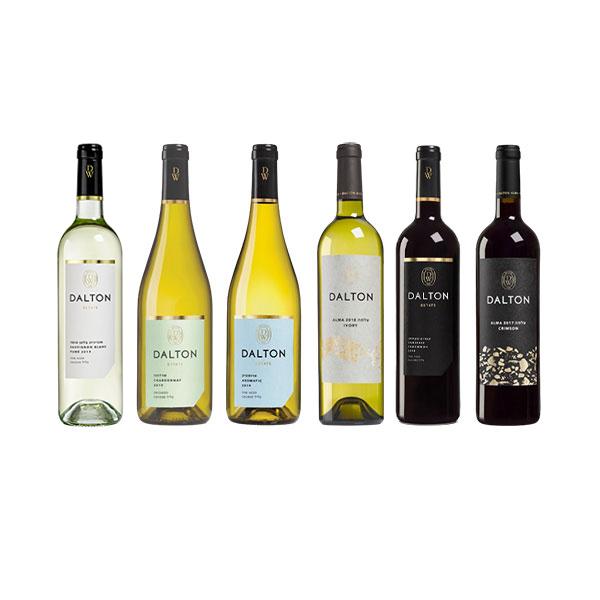 מארז חגיגה גלילית יינות DALTON